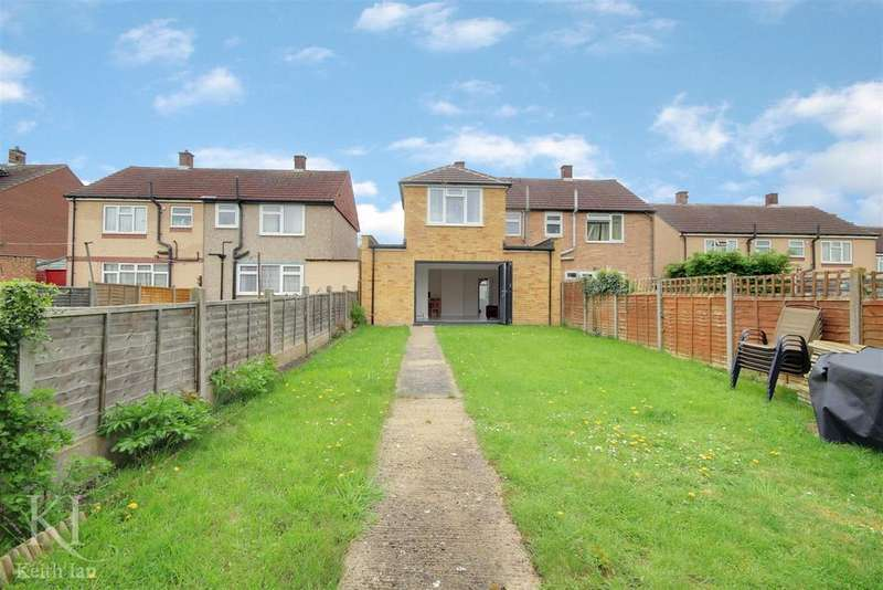 3 Bedrooms Semi Detached House for sale in Upper Clabdens, Ware