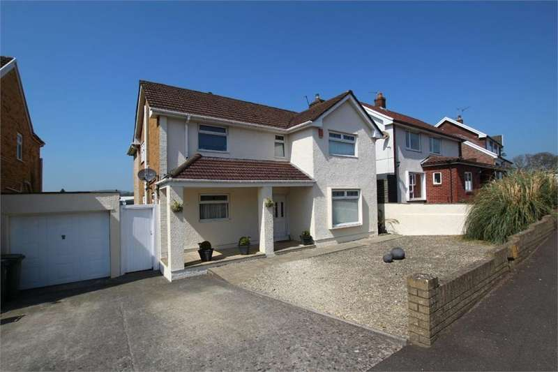 4 Bedrooms Detached House for sale in Padarn Close, Lakeside, Cardiff