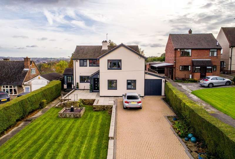4 Bedrooms Detached House for sale in Nottingham Drive, Wingerworth