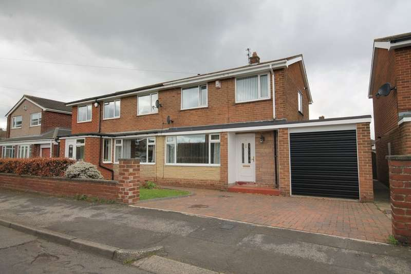 3 Bedrooms Semi Detached House for sale in Callander, Ouston, Chester Le Street, DH2