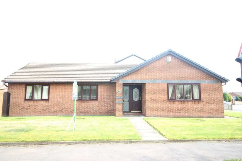 3 Bedrooms Detached Bungalow for sale in Nicol Road, Ashton-In-Makerfield, Wigan, WN4