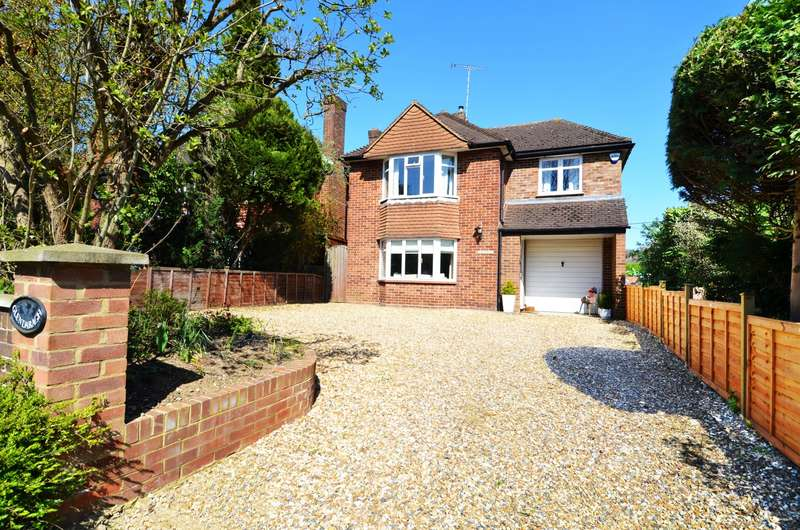 4 Bedrooms Detached House for sale in Marlow Road, Bourne End, SL8