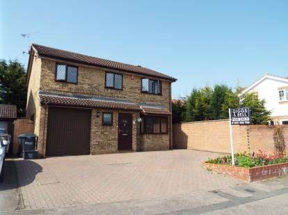 4 Bedrooms Detached House for sale in Albury Close, Luton, Bedfordshire