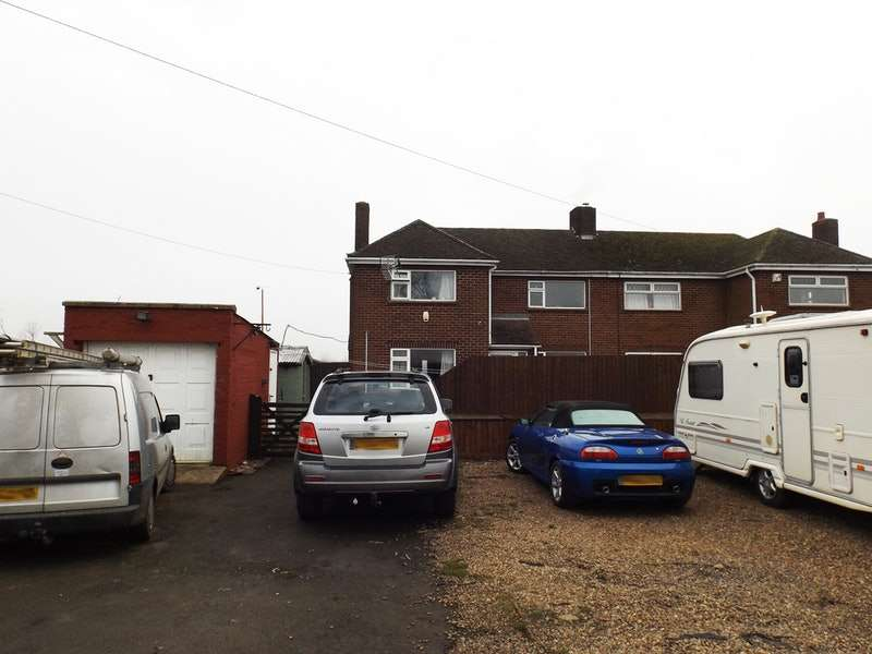 3 Bedrooms Semi Detached House for sale in Fulney Drove, Spalding, Lincolnshire, PE12