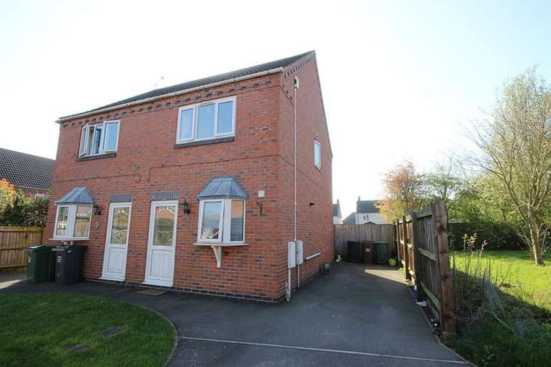 2 Bedrooms Semi Detached House for sale in The Lime Kilns, Barrow Upon Soar