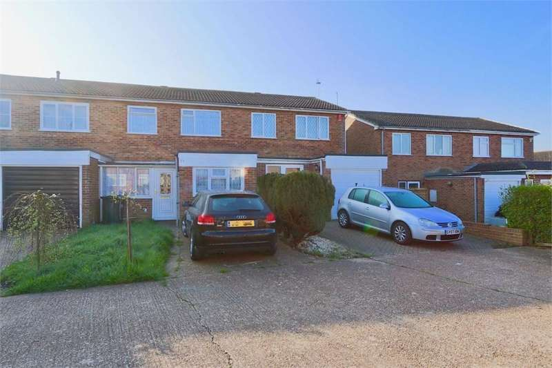 4 Bedrooms Terraced House for sale in Heather Close, EASTBOURNE, East Sussex