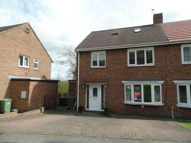 4 Bedrooms Semi Detached House for sale in THORNTREE GILL, PETERLEE, PETERLEE