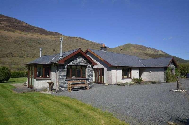 3 Bedrooms Detached Bungalow for sale in Dol-y- Ronw, Abergynolwyn, Gwynedd, LL36