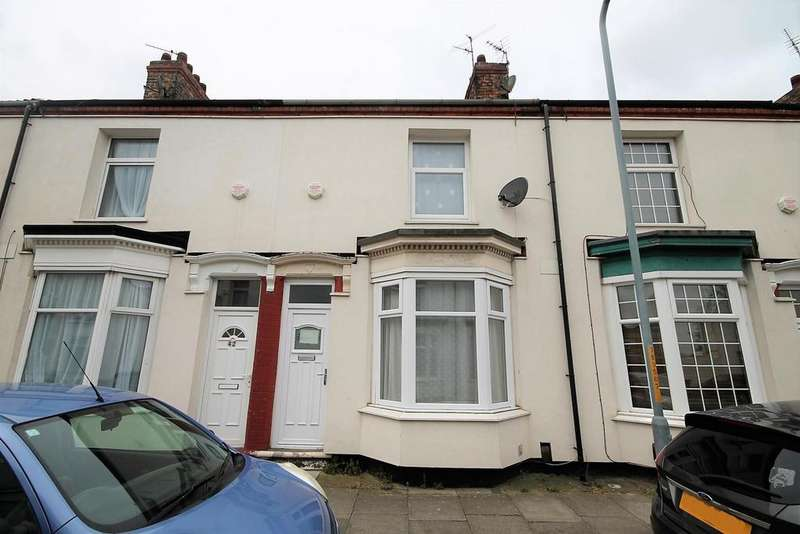 2 Bedrooms Terraced House for sale in St. Cuthberts Road, Stockton-On-Tees