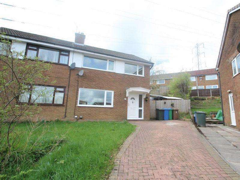 3 Bedrooms Semi Detached House for sale in Harewood Way, Norden, Rochdale OL11 5TW
