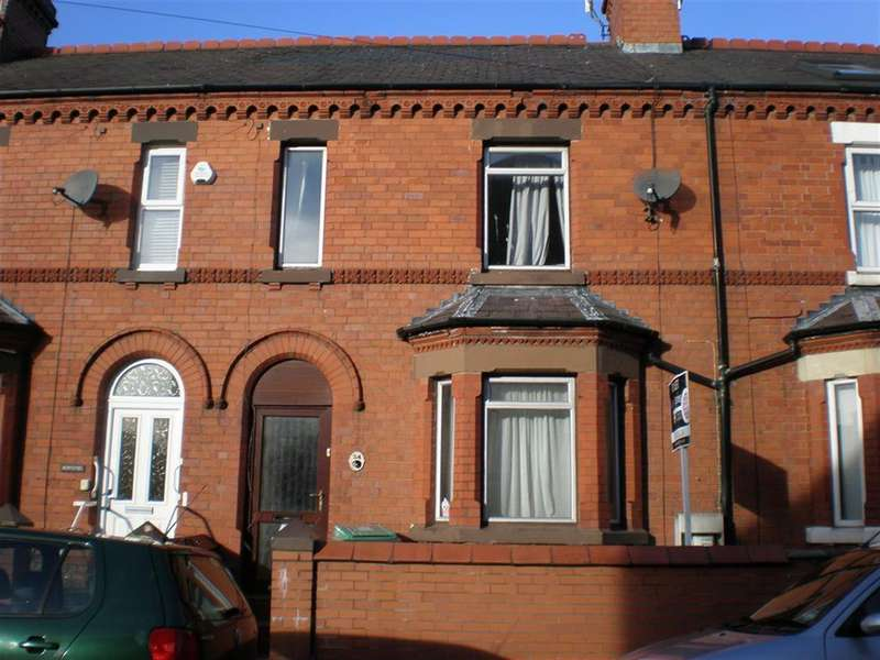 3 Bedrooms Terraced House for sale in Maesgwyn Road, Wrexham, LL11 2AP