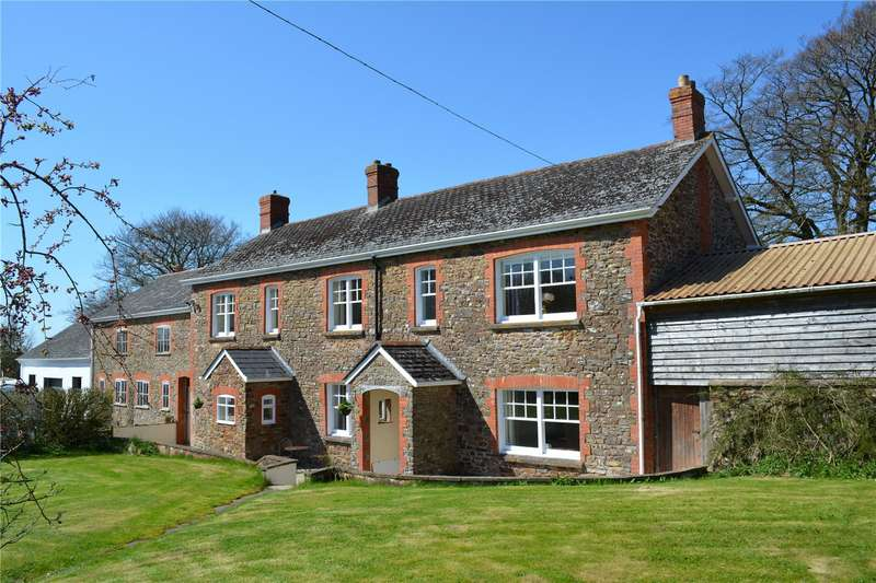 4 Bedrooms Detached House for sale in Higher Bulworthy, Rackenford, Tiverton, Devon, EX16