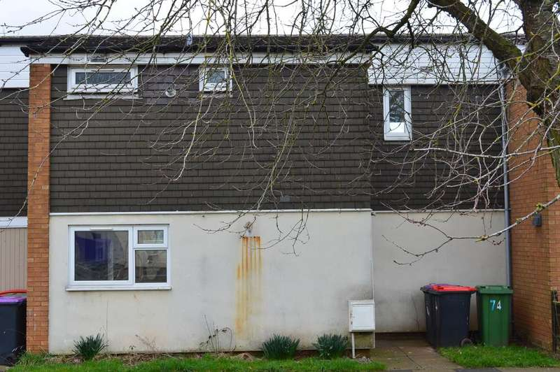3 Bedrooms Terraced House for rent in Stebbings, Sutton Hill, Telford TF7