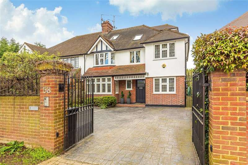 6 Bedrooms Semi Detached House for sale in Hartington Road, Grove Park, Chiswick, London, W4