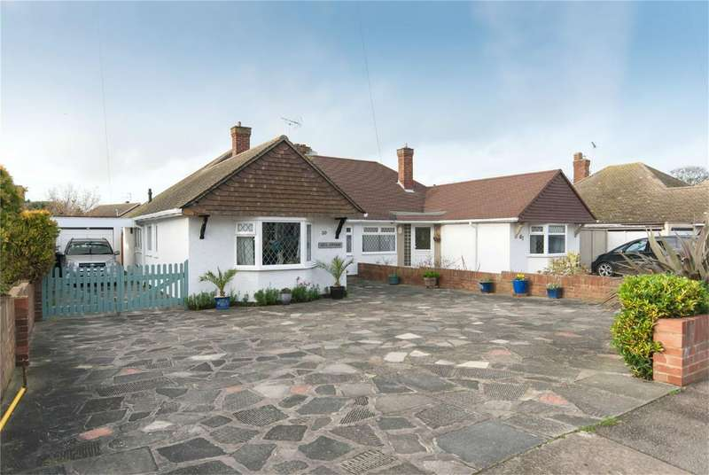 2 Bedrooms Semi Detached Bungalow for sale in Albion Road, BIRCHINGTON