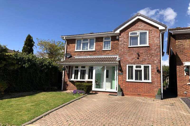 3 Bedrooms Detached House for sale in Springbrook Close, Birmingham, B36