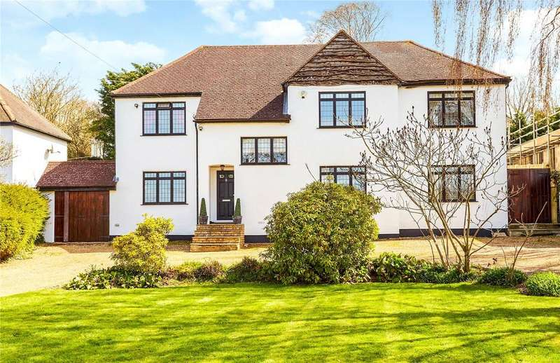 4 Bedrooms Detached House for sale in Old London Road, Badgers Mount, Sevenoaks, Kent, TN14