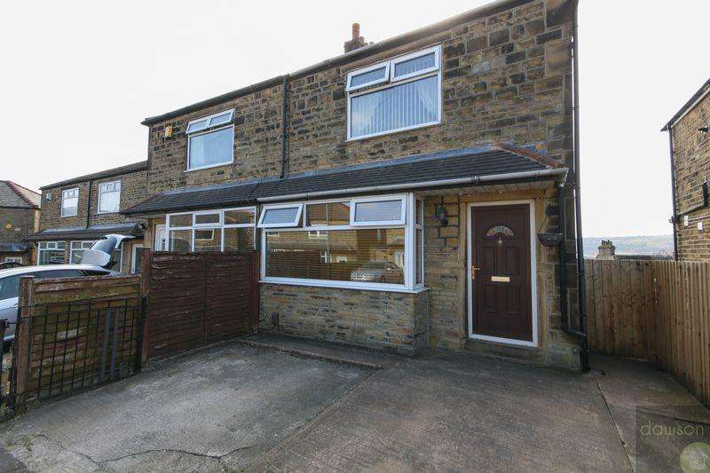 3 Bedrooms Semi Detached House for sale in Exley Lane, Elland