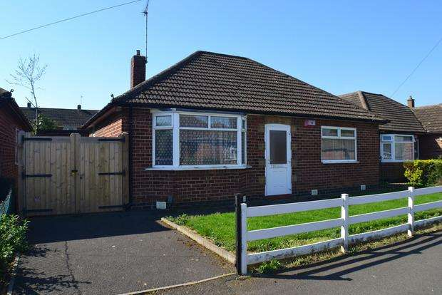 2 Bedrooms Detached Bungalow for sale in Ireton Road, Market Harborough, LE16