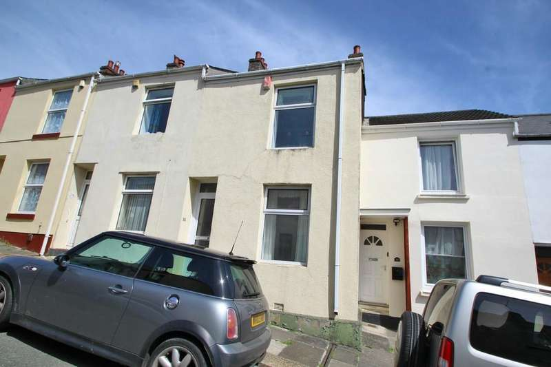 2 Bedrooms Terraced House for sale in Tollox Place, Plymouth