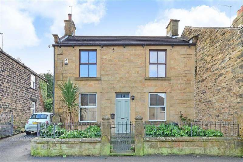 3 Bedrooms Semi Detached House for sale in 14, Quoit Green, Dronfield, Derbyshire, S18