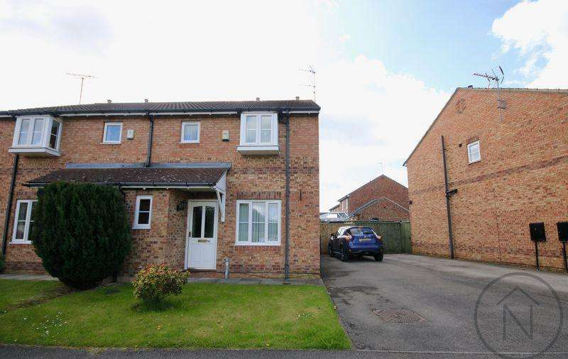 3 Bedrooms Semi Detached House for sale in Darrowby Drive, Darlington