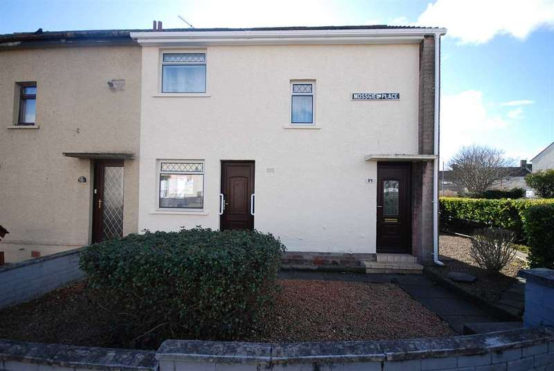 2 Bedrooms End Of Terrace House for sale in Mossgiel Place, Stevenston