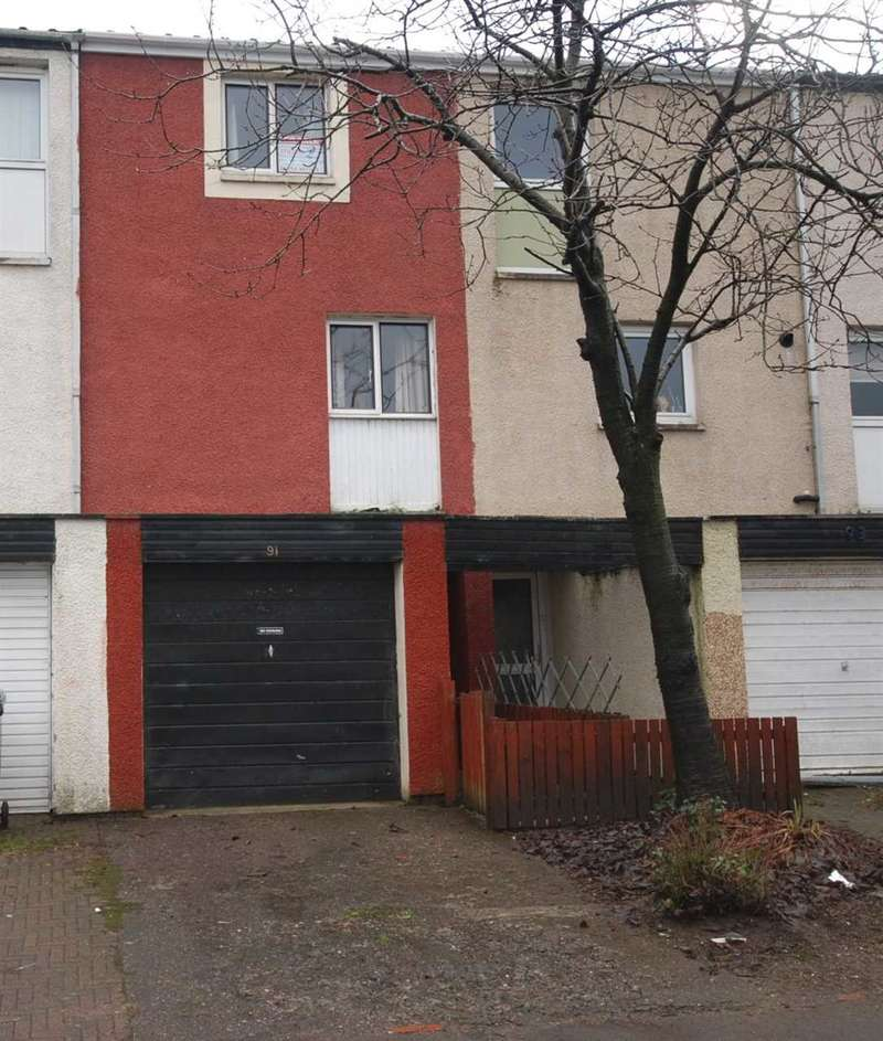 3 Bedrooms Terraced House for sale in Sundrum Place, Kilwinning