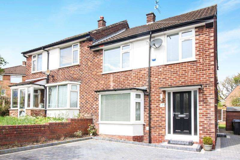 3 Bedrooms Semi Detached House for sale in Sandringham Road , Cheadle Hulme