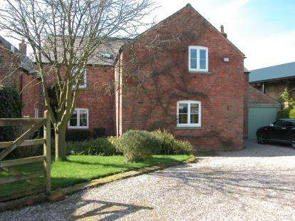 4 Bedrooms Barn Conversion Character Property for sale in Old Hall Farm, Old Hall Lane, Neston, Cheshire, CH64