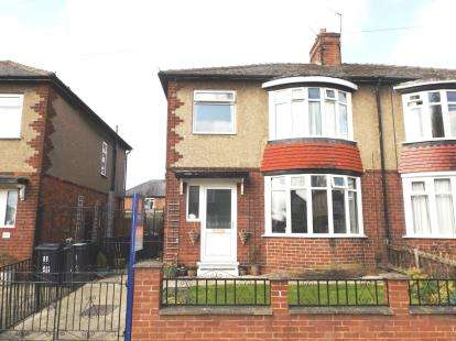 3 Bedrooms Semi Detached House for sale in Estoril Road, Darlington, County Durham
