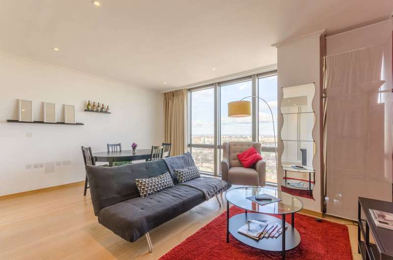 1 Bedroom Flat for sale in West India Quay, Canary Wharf, E14