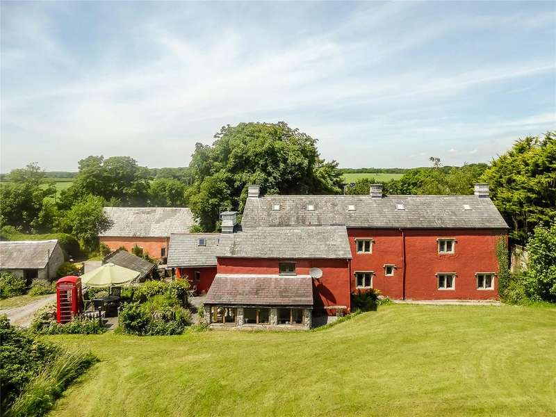 5 Bedrooms Detached House for sale in Trewallter Fawr, Walterston, Vale Of Glamorgan, CF62