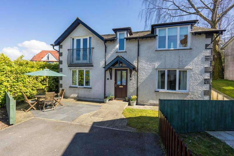 2 Bedrooms Detached House for sale in 1 Abbotsgarth, Thornbarrow Road, Windermere, Cumbria, LA23 2DG