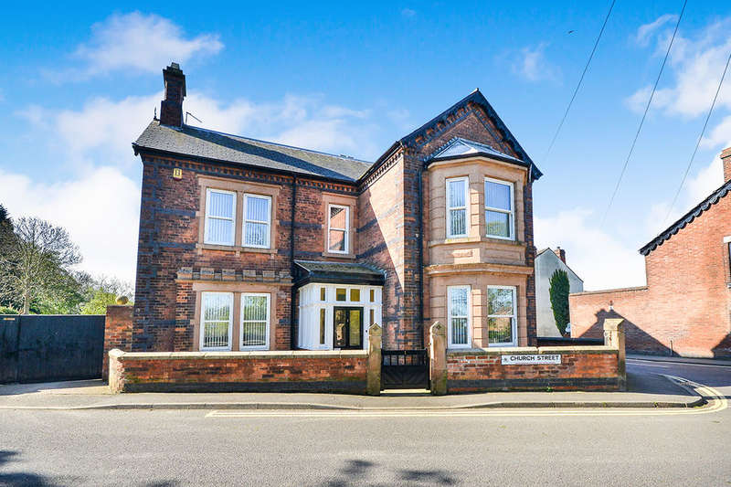 4 Bedrooms Detached House for sale in Church Street, Riddings, Alfreton, DE55