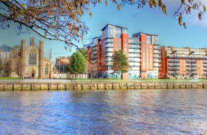 2 Bedrooms Flat for sale in Dunlop Street, City Centre