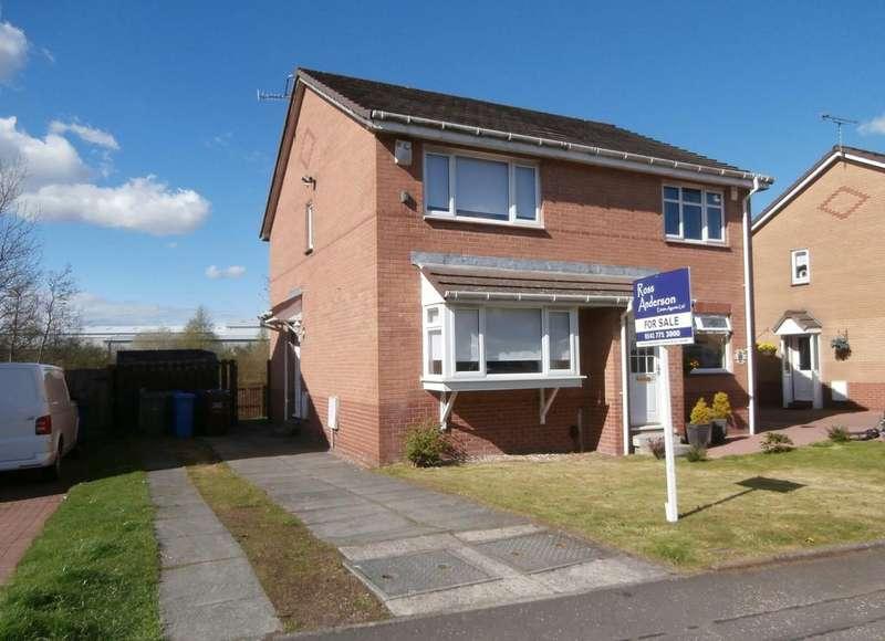 2 Bedrooms Semi Detached House for sale in Springcroft Crescent, Springhill Farm, Baillieston, Glasgow G69