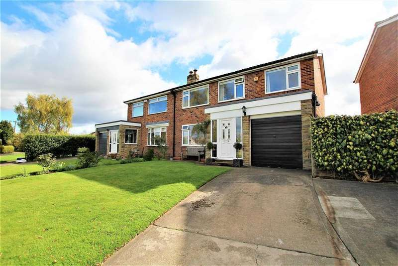 4 Bedrooms Semi Detached House for sale in Falcon Walk, Hilton, Yarm