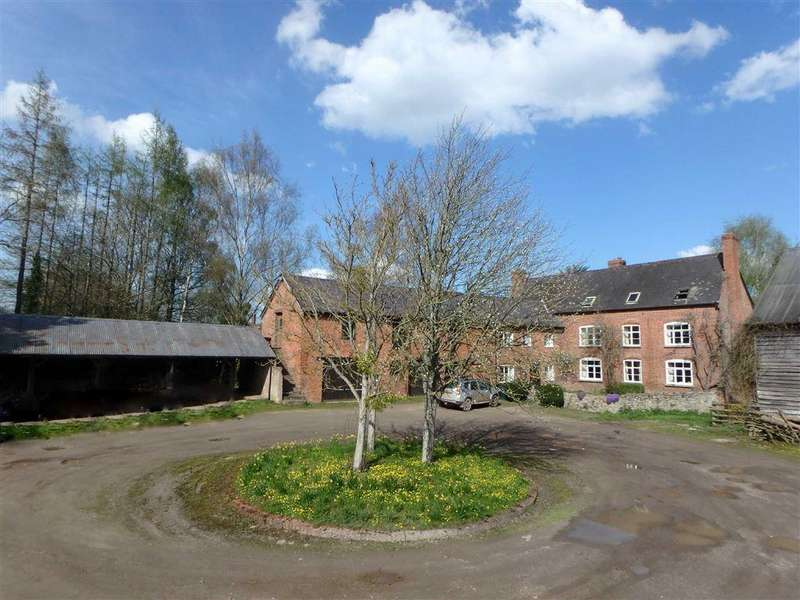 7 Bedrooms Detached House for sale in Brobury, Herefordshire