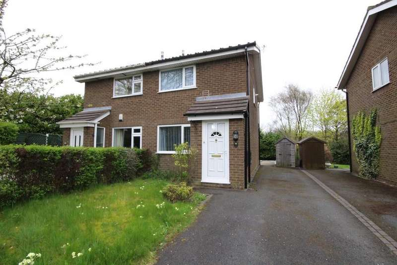 2 Bedrooms Semi Detached House for sale in St Francis Close, Fulwood