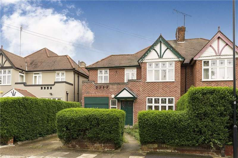 4 Bedrooms Semi Detached House for sale in Gardiner Avenue, Willesden Green, London, NW2
