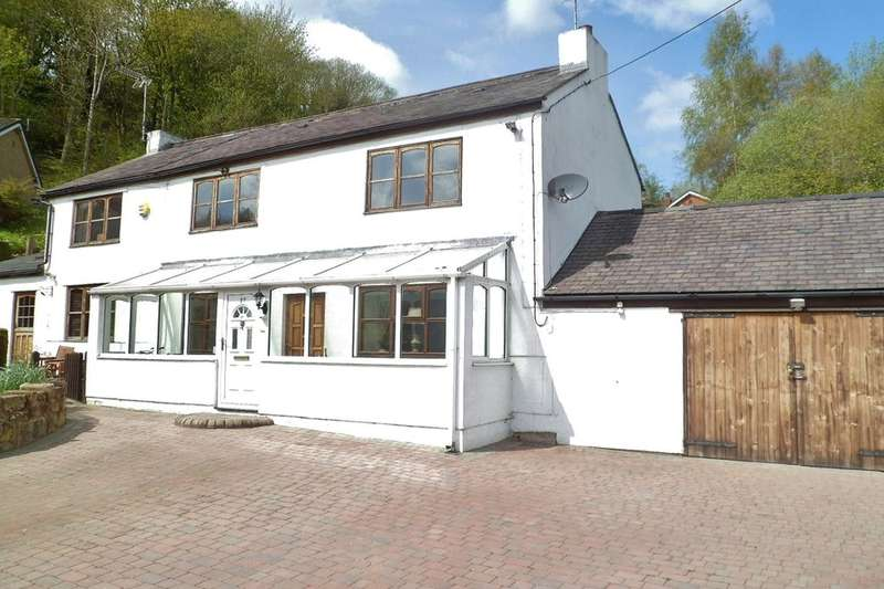 4 Bedrooms Detached House for sale in Carden Road, Moss, Wrexham, LL11