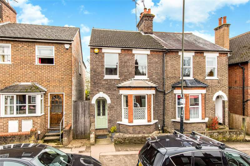 3 Bedrooms Semi Detached House for sale in Holywell Hill, St. Albans, Hertfordshire, AL1