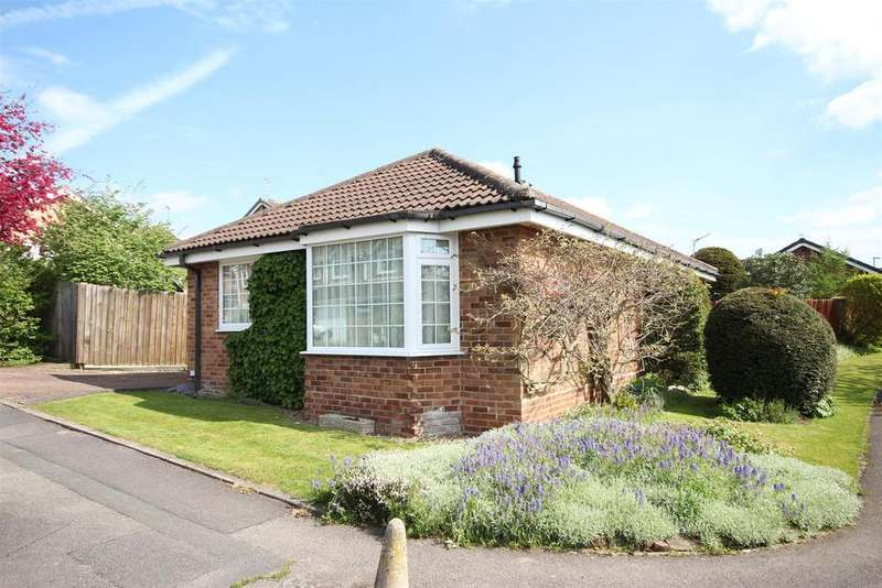 2 Bedrooms Detached Bungalow for sale in Freesia Close, Mickleover, Derby