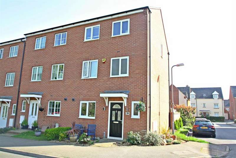4 Bedrooms End Of Terrace House for sale in Downing Close, Bletchley, Milton Keynes
