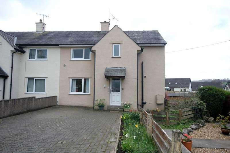 3 Bedrooms Semi Detached House for sale in Firs Road, Milnthorpe