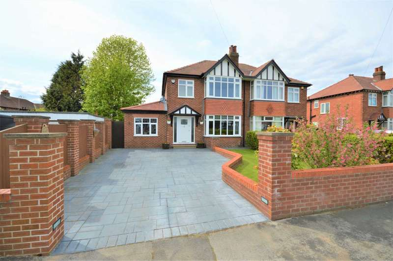 3 Bedrooms Semi Detached House for sale in Devonshire Road, Hazel Grove