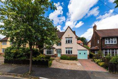 4 Bedrooms Detached House for sale in Wemyss Gardens, Wollaton, Nottingham, Nottinghamshire