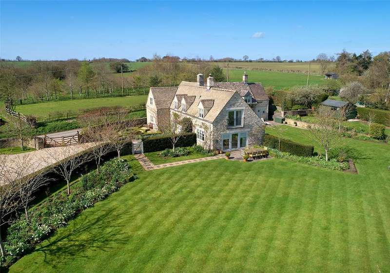 4 Bedrooms Detached House for sale in Winson, Cirencester, Gloucestershire