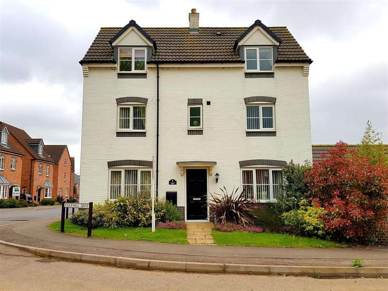 4 Bedrooms Detached House for sale in Stockwell Drive, Derby